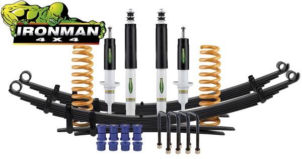IRONMAN 4x4 HÖHERLEGUNGSFAHRWERK für VW Amarok 3.0 V6 / +35mm Lift - Comfort