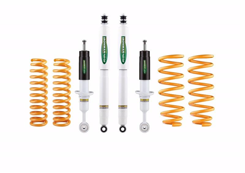 IRONMAN 4x4 HÖHERLEGUNGSFAHRWERK +20mm Lift - Comfort für Nissan Navara D23