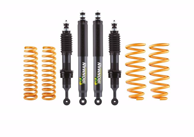 IRONMAN 4x4 HÖHERLEGUNGSFAHRWERK für Mercedes X +0/ 40mm Lift - Comfort/ Medium