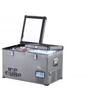 ICE CUBE FRIDGE65 Kompressor Kühlbox mit zwei getrennten Kühlfächern