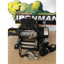 Ironman 4x4 - WWBWWB24V10T elektrische Seilwinde 10 Tonn - 24V mit Stahlseil