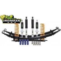 Ironman 4x4 Höherlegungsfahrwerk mit ABE +30mm Lift - COMFORT/ MEDIUM für Mitsubishi L200 & Fiat Fullback - MITS047BKF2