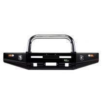 Ironman 4x4 - BB051SL - Chrom Frontschutzbügel klein für Stosstange BBT051NL für Toyota Hilux Revo