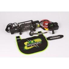 Ironman 4x4 - Elektrische Seilwinde 9500lb/ 4310kg 12V mit Dyneema Seil und Funkvernbedienung WWB9500SR