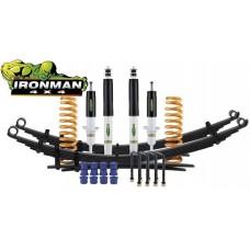 Ironman 4x4 Höherlegungsfahrwerk mit ABE +30mm Lift - MEDIUM für Mitsubishi L200 & Fiat Fullback - MITS047BKF3