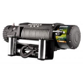 Ironman 4x4 - elektrische Seilwinde 9500lb/ 4310kg 12V mit Stahlseil und Funkvernbedienung WWB9500