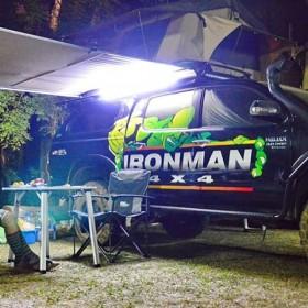Ironman 4x4 Markise - Vordach Dachzelt - Sonnenschtz 2,5m x 2,5m - IAWNING2.5M